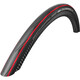"SCHWALBE Durano Bike Tire 28"", foldable red/black"